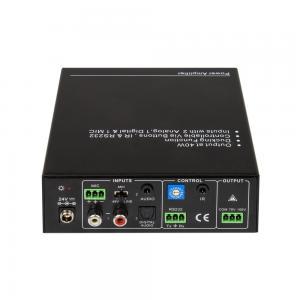SE audio AMP100V, styrbar 100V förstärkare 40W