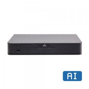 UNV NVR301-04X-P4, 4K, 4x POE, 1x SATA, AI