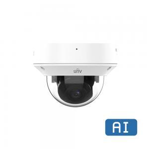 UNV IPC3234SB-ADZK-I0, AI Vandalsäker Dome, motor zoom 2.7-13.5 mm, 4MP