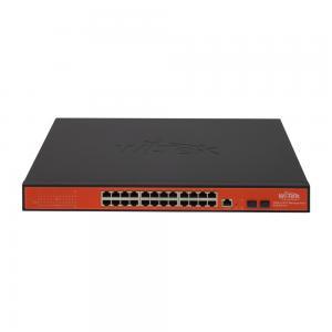 Wi-Tek PMS326GF 24-ports Managed Gigabit-switch, 24xPoE, 2xSFP