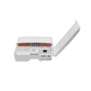 Wi-Tek PS210G-O utomhus CCTV-switch  6xFE PoE+, 2xGE PoE++, 2xGE uplink, 1xSFP, IP65