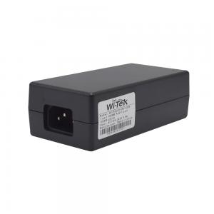 Wi-Tek POE55-48V PoE++ injector 60W self-adaption 2xGE