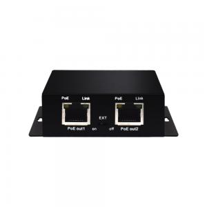 Wi-Tek PE31E PoE extender, 2xFE PoE out, 1xFE PoE input