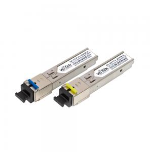 Wi-Tek SFP10SC Gigabit Fiber module 20 KM SC connector