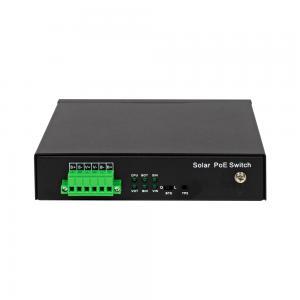 Wi-Tek PS306GF-UPS CCTV-switch 5 portar 10/100 PoE+ 1x SFP, UPS