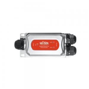 Wi-Tek PE21E-O PoE extender, 2xGE PoE out, 1xGE PoE input, IP68