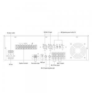 ITC T-550B Mixerförstärkare 500W 100V