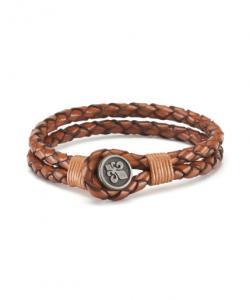 Morris Jack Leather Bracelet