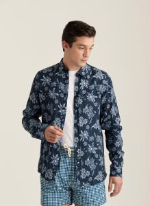 Morris Florian Linen Shirt