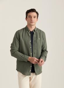 Morris Douglas Linen Shirt
