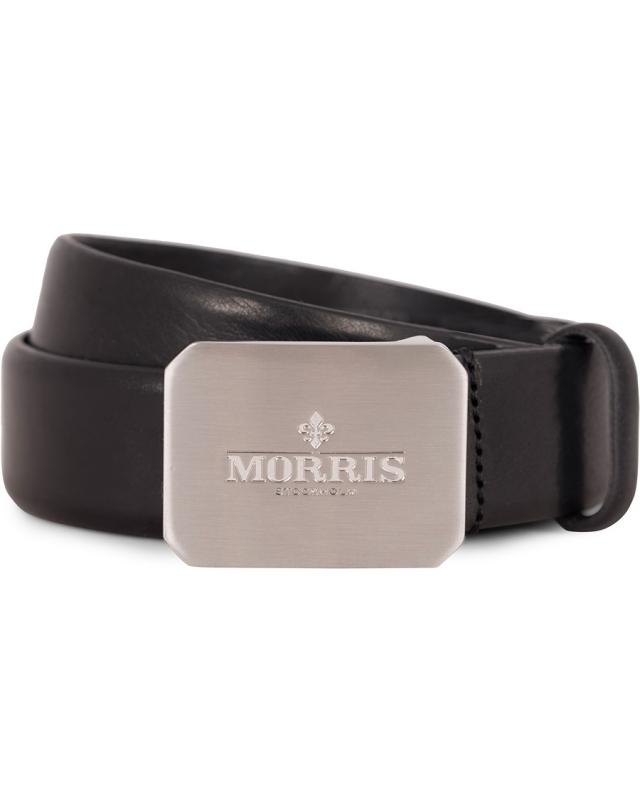 Morris Plated Logo Leather