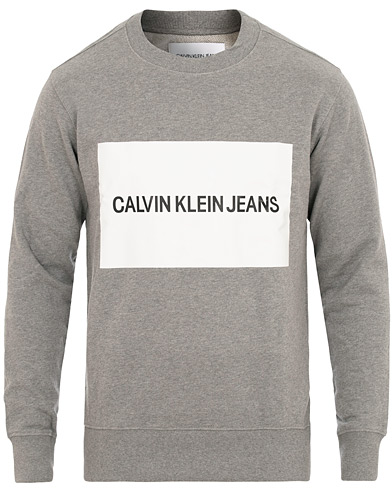 Calvin Klein Institut Box Logo Sweat