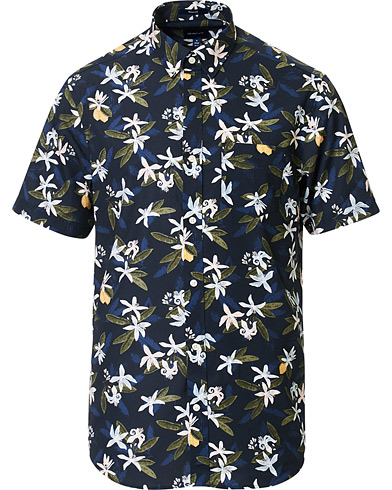 Gant Flower Printed SS Shirt
