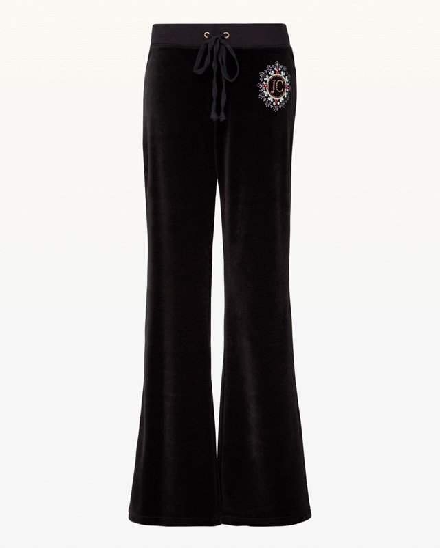 Juicy Couture Crest Velour Pant