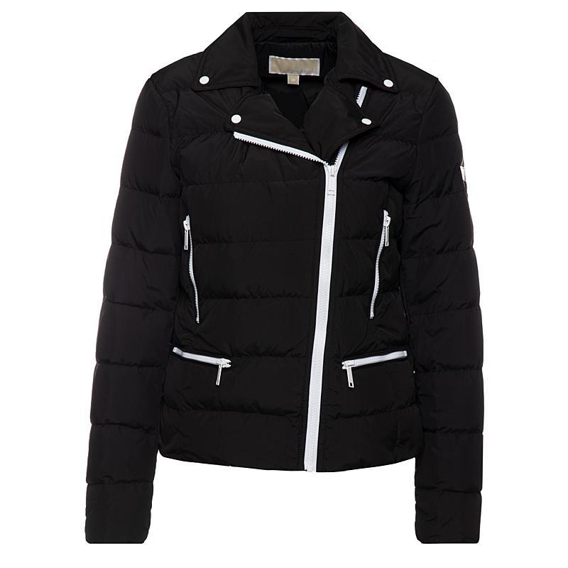 Michael Kors Puffer Biker Jacket