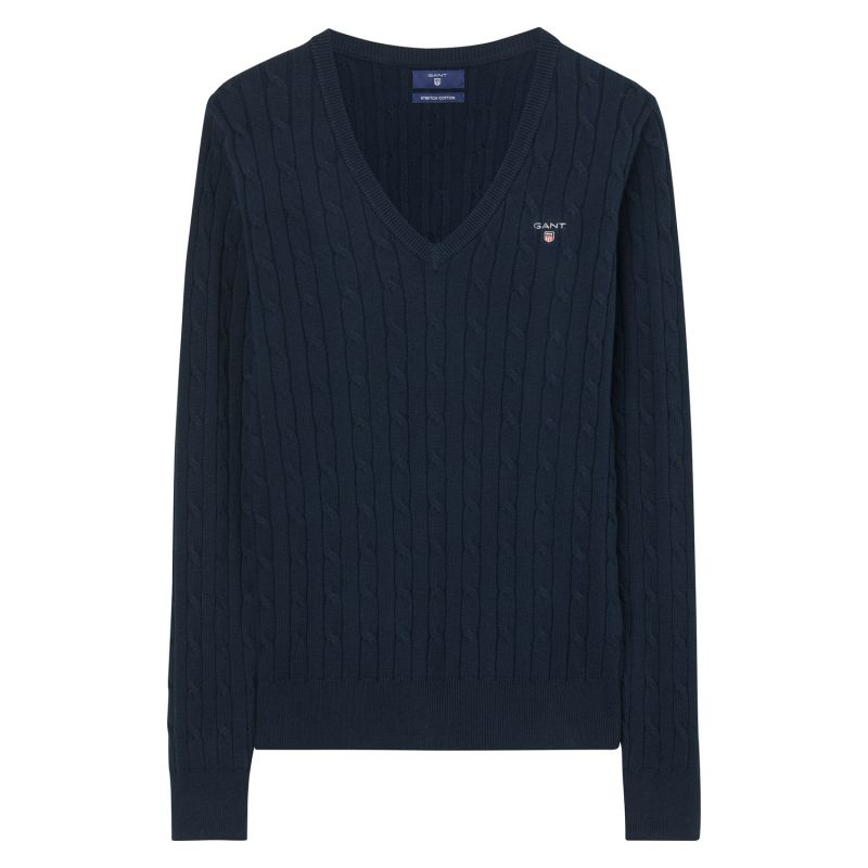 Gant Cable V-Neck