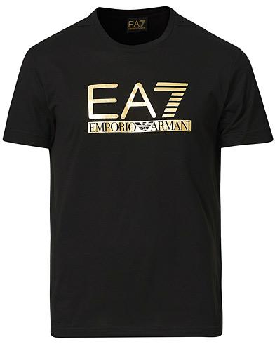 EA7 Gold Logo Tee