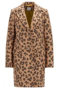 Boss Leopard Coat