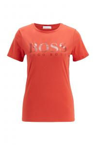 Boss W Logo Print Tee