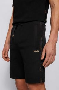 Boss Gold Logo Shorts