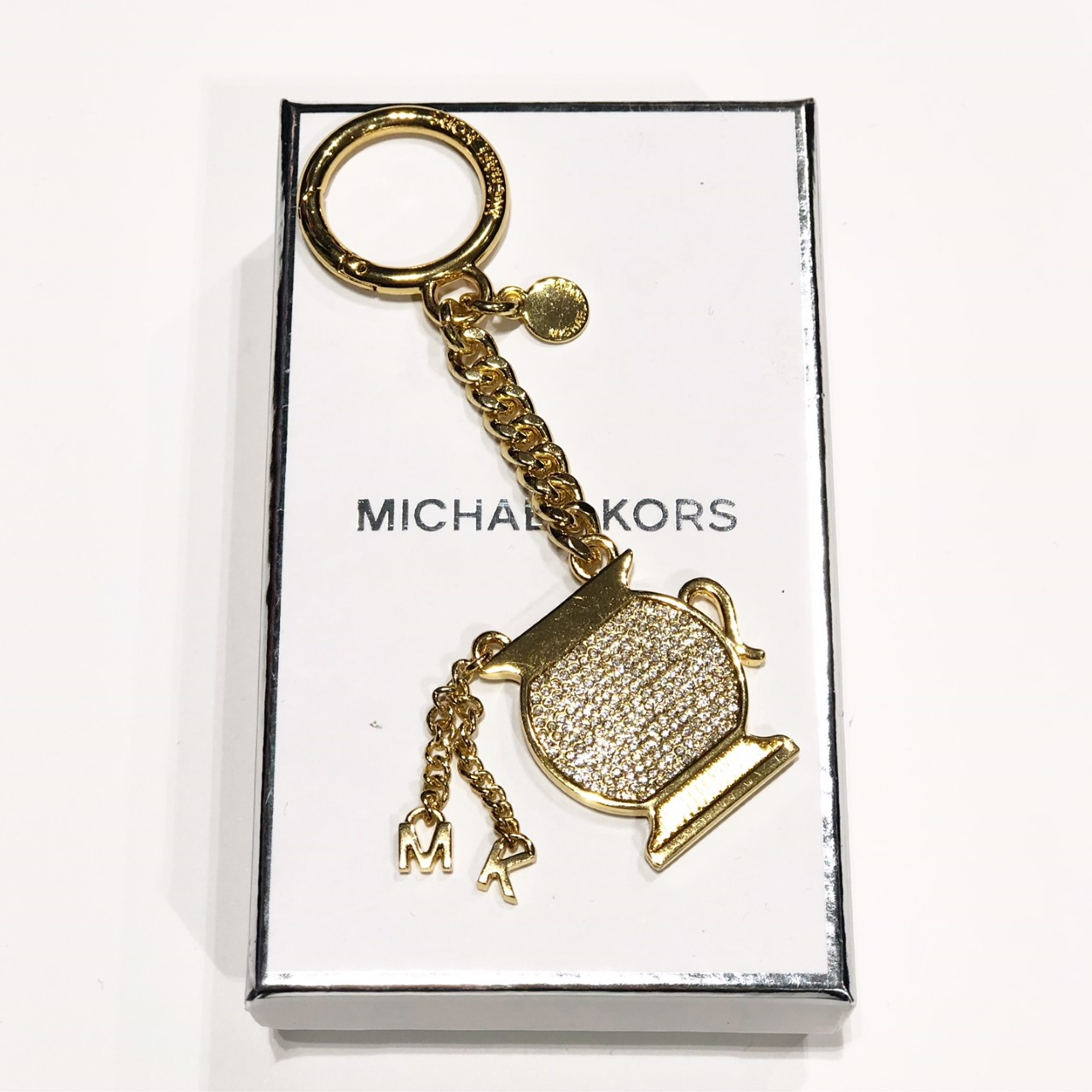 mikael kors nyckelring