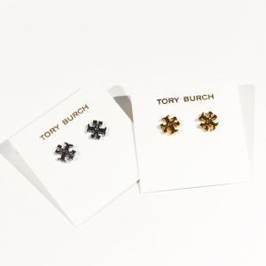 Tory Burch Logo Stud Earring