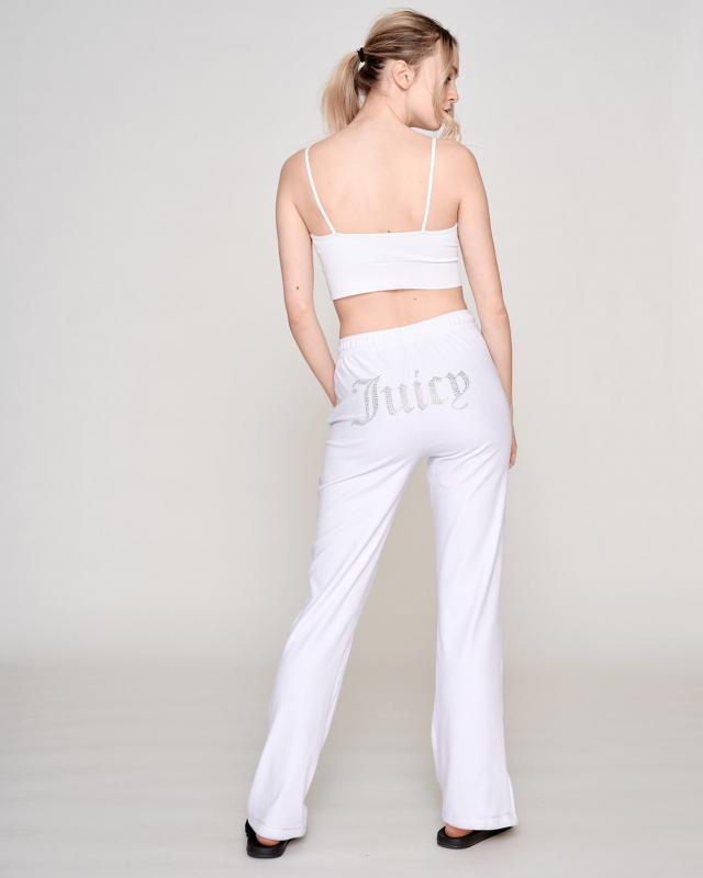 Juicy Couture Tina Diamante Velour Pants