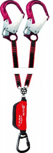 Fall Arrest Lanyard 2x1,8m Retexo Gyro Rewind Sharp-Edge 130kg