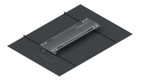AIO Intermediate base for standing seam roofs