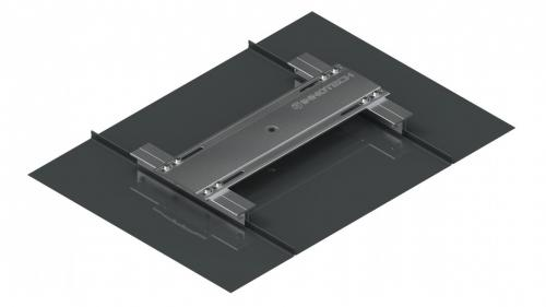 AIO End/corner base for standing seam roofs