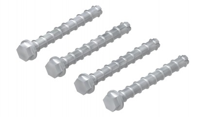 Concrete Anchor Bolt 10x90mm 4-pack