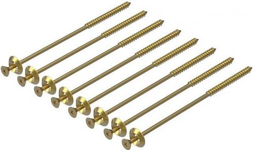 Wooden Screws 8x140mm 8-pack