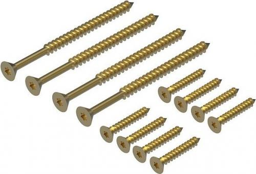 Wooden Screw Kit (12pc)