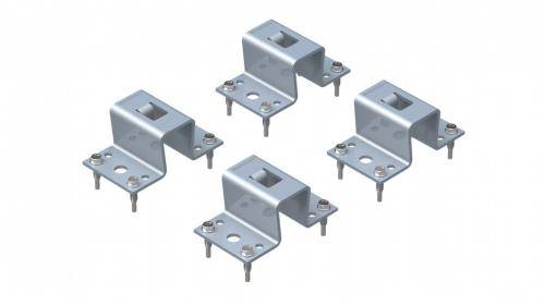 Fastening set for BEF-303 frame