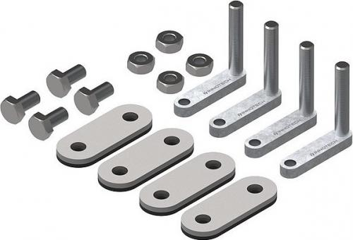 Universal fastener Trapezoidal Supporting Sheet