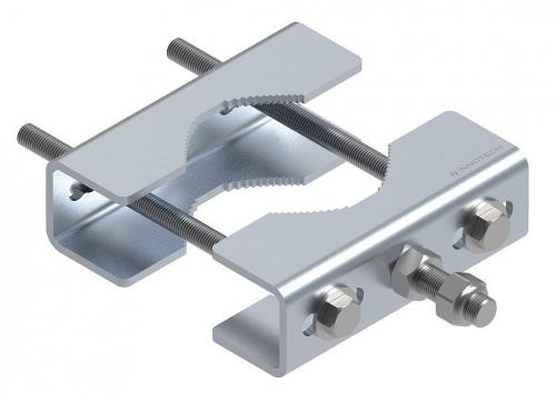 Fastening set for pipework structures 60-120 mm