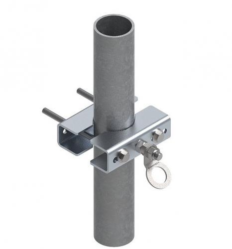Rörfäste 60-120 mm Förzinkad