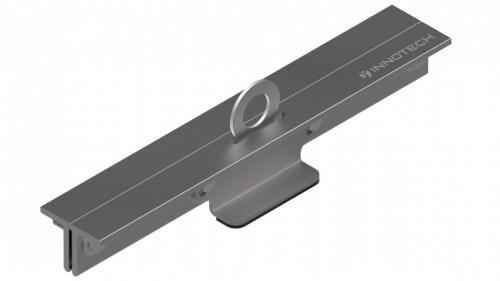 Punto de anclaje de tejado con junta alzada EN795A