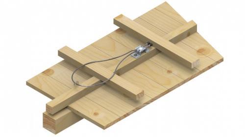Punto de anclaje para tejados inclinados EN795A