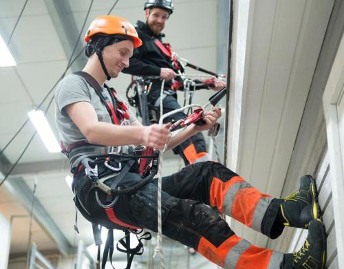 Work and Rescue at Heights