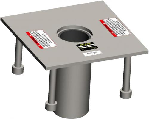 XTirpa Fresh Concrete Floor Adapter