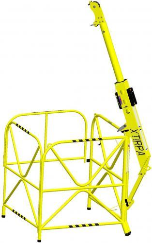 XTirpa™ 610 - Davitkran med skyddsräcke EN795B