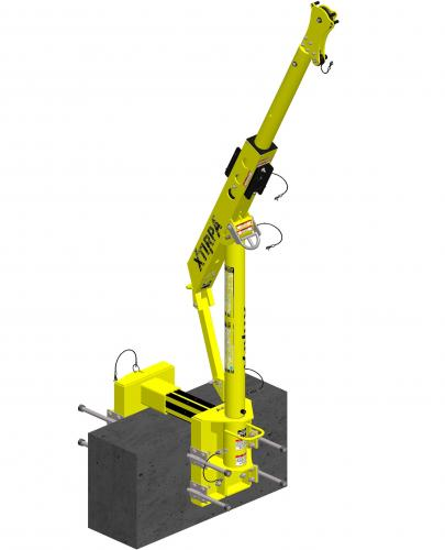 XTirpa 610mm Davit System with wall adapter