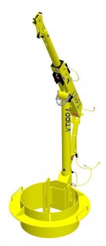 XTirpa Portabelt Davitsystem med krage