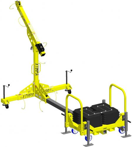 XTirpa™ 1200 - Counter Weight System EN795B/A