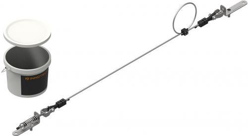 Horisontellt Livlinekit EN795C (10 m)