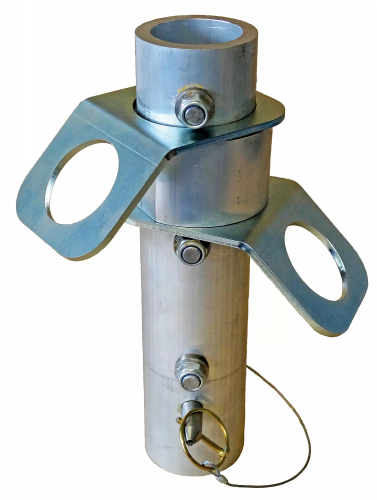 Davimast Anchor Post Top with 2 anchor points