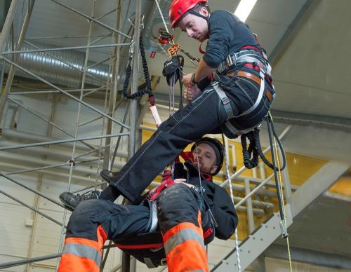 Räddning på hög höjd