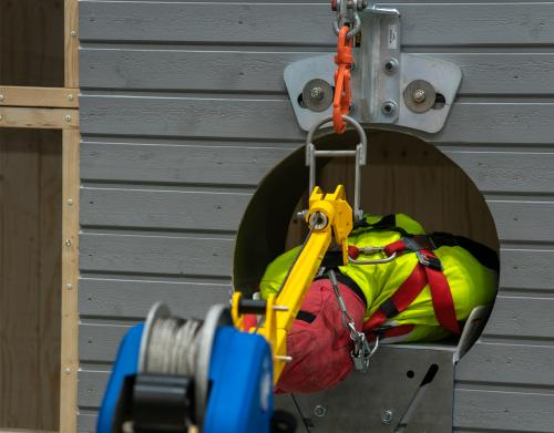 Work in Confined Space