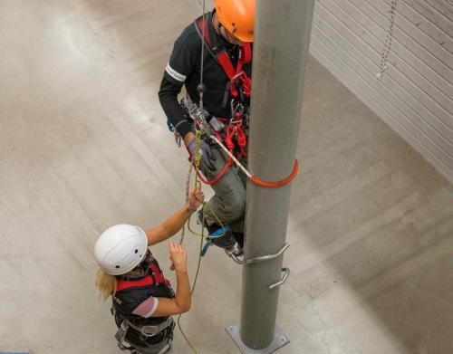 Pole Climbing and Rescue